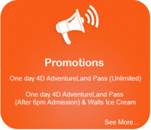 promotions unlimited pass best theme park promo codes all available at sentosa 4d theme park singapore