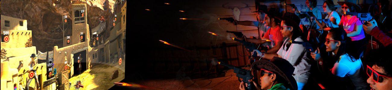 desperados 4d shooting ride only at sentosa 4d adventureland theme park